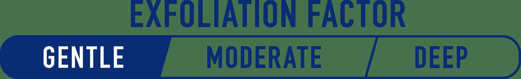 Exfoliation Factor Gentle