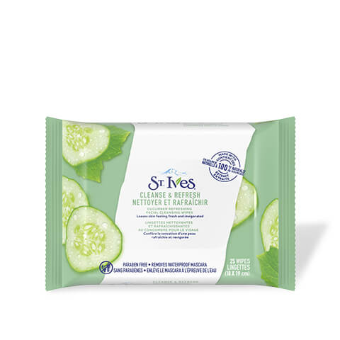 Cleanse and Refresh Cucumber Face Wipes
