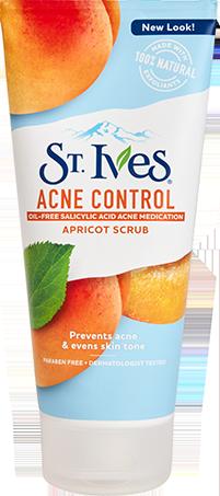 Acne Control Apricot Scrub