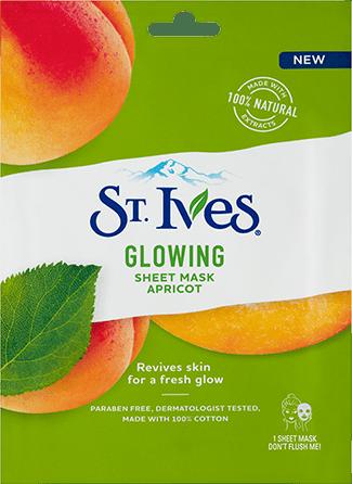 Glowing Sheet Mask Apricot