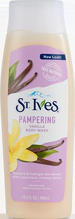 Pampering Vanilla Body Wash