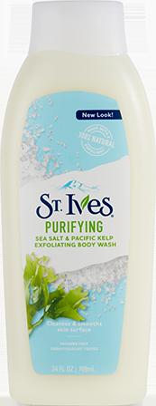 Purifying Sea Salt & Pacific Kelp Body Wash