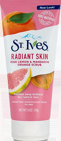 Radiant Skin Pink Lemon & Mandarin Orange Face Scrub