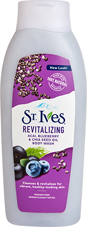 Revitalizing Acai, Blueberry & Chia Seed Oil Body Wash