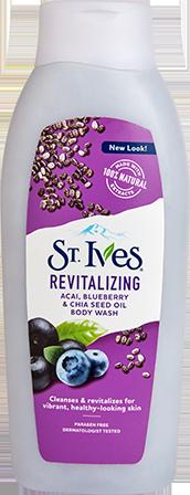 Revitalizing Acai, Blueberry & Chia Seed Oil Body Wash