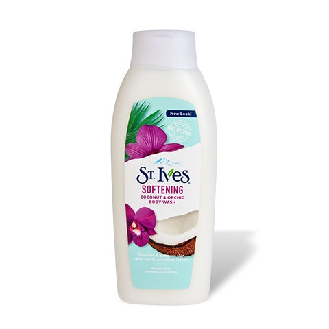 Softening Coconut & Orchid Body Wash