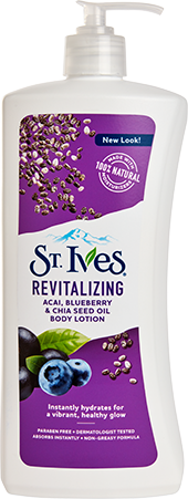 Revitalizing Acai, Blueberry & Chia Seed Oil Body Lotion