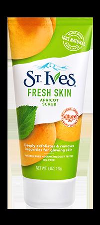 Exfoliating Face Scrub Fresh Skin Apricot Face Scrub St