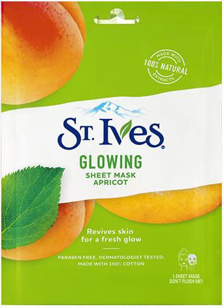 Glowing Apricot Sheet Mask