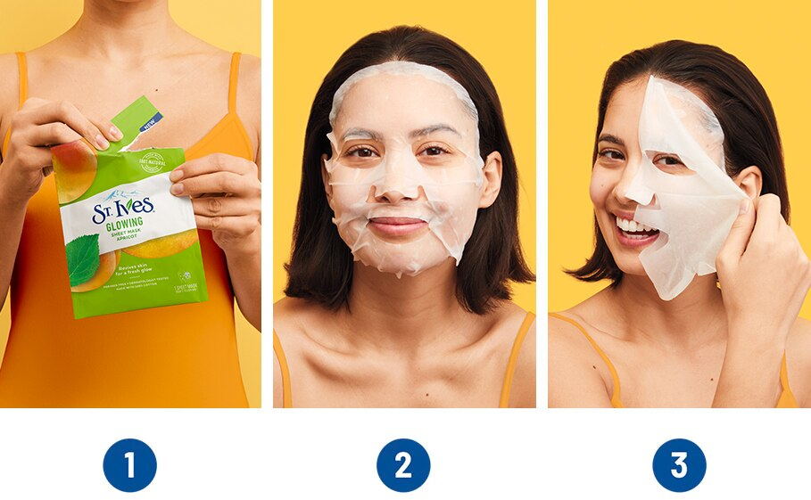 How to Use a Sheet Mask | St  Ives®