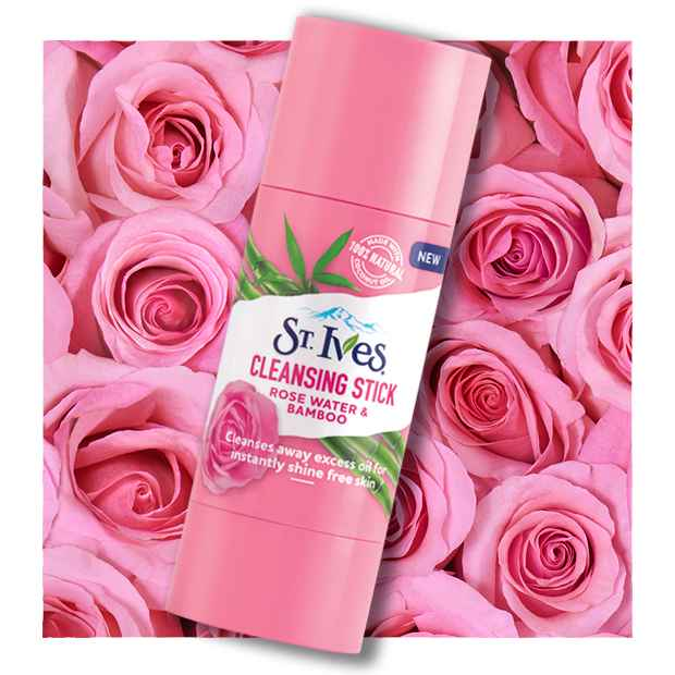 Rose Water & Bamboo Cleansing Stick