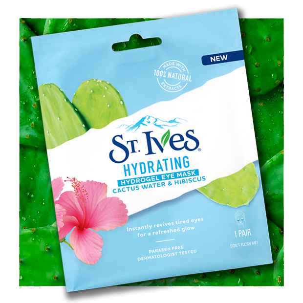 St Ives Most Loved Hydrogel Cactus Eye Mask