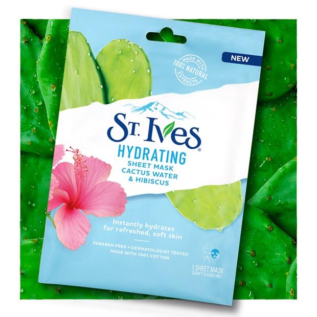 Hydrating Cactus Water & Hibiscus Sheet Mask