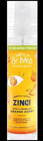 orange face mist
