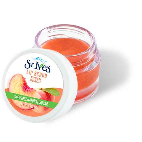 Peach Exfoliating Lip Scrub