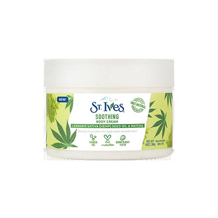 soothing hemp body cream