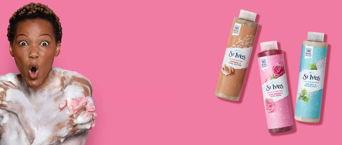 NEW ST.IVES BODY WASH