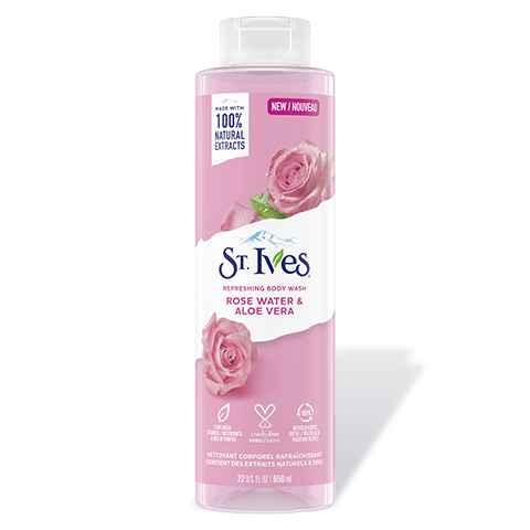 Rose Water & Aloe Vera Body Wash