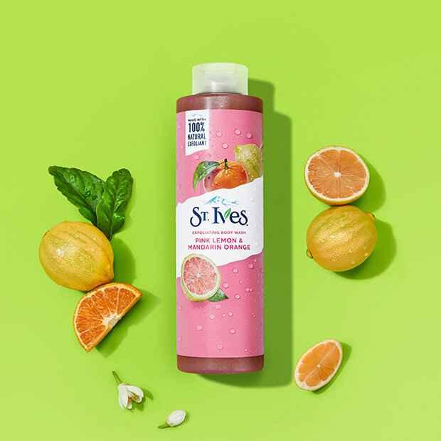 NEW Exfoliating Body Wash Pink Lemon & Mandarin Orange